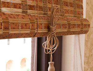 Как собрать бамбуковые жалюзи