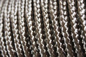 Базальтовый шнур для теплоизоляции печей