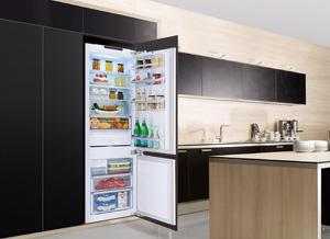 Встроенный холодильник – эстетика и функциональность