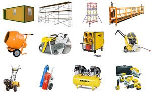 Строительное оборудование – покупка или аренда?