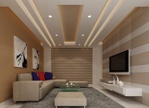 Применение гипсокартона для отделки потолков