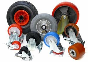 Характеристики промышленных колёс для логистической техники