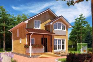 Преимущества выбора проектов двухэтажных домов до 100 м²