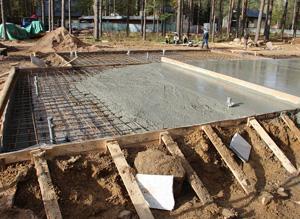 Как грамотно рассчитать объём бетона для 3х типов фундамента