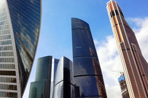 Высотный комплекс «Федерация» в Москва-Сити