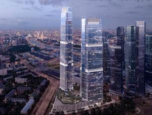 Апартаменты в высотном комплексе «Москва Сити»