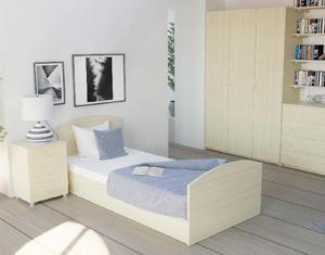 Эргономика спальни с кроватями компании Armos Market