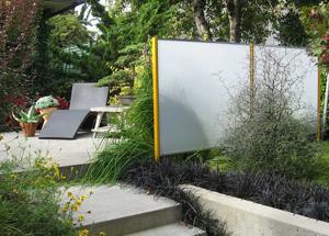 Светопрозрачные конструкции из поликарбоната в ландшафтном дизайне