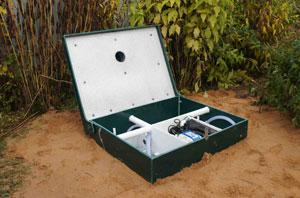 Sewera: Септики и инженерные коммуникации