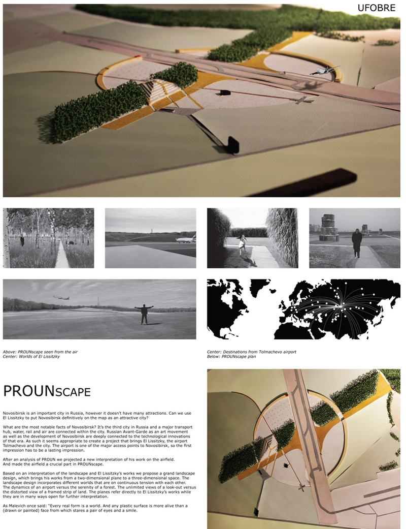 Миры Эль Лисицкого / Worlds of El Lissitzky: UFO (Urban Field Operations). PROUNscape / ПРОУНшафт