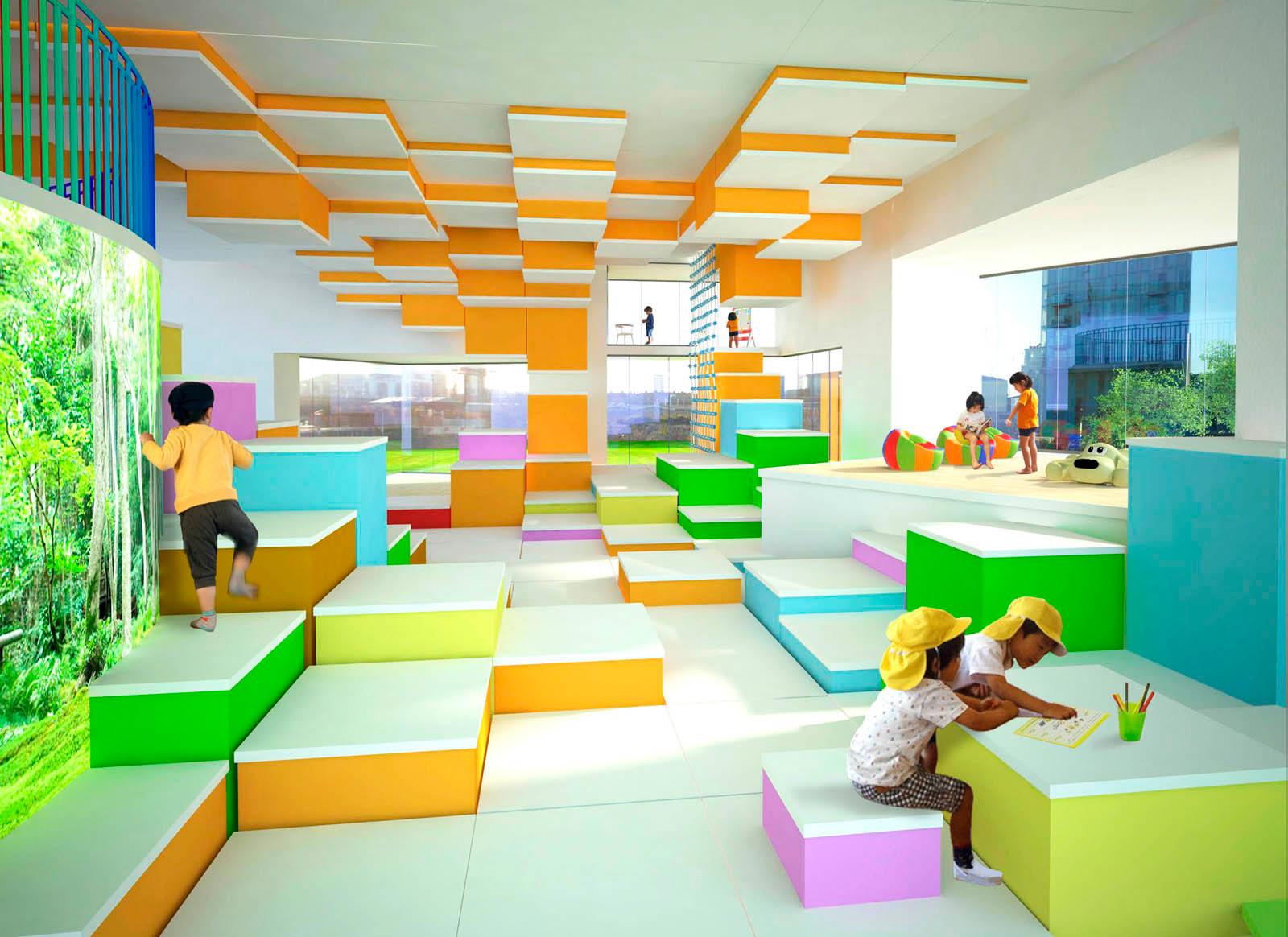 Проект детского сада transform в Лондоне Архитектура и  Проект детского сада transform в Лондоне ООО Проектно конструкторское бюро ИССО