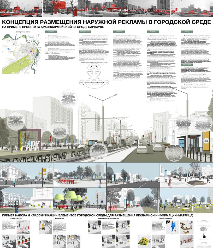 Комфортная городская среда дипломный проект 7763