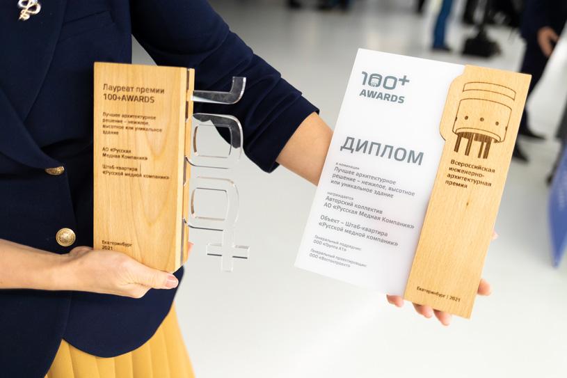 Лауреаты премии 100+ AWARDS 2021