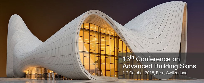 13-я Международная Конференция «Прогрессивные Оболочки Зданий». Advanced Building Skins