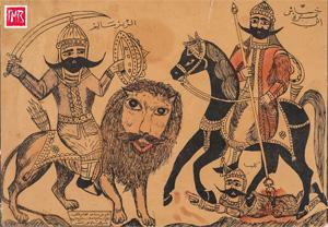 Выставка «Пророки и герои. Арабская народная картина XIX-XX веков» в музее Востока