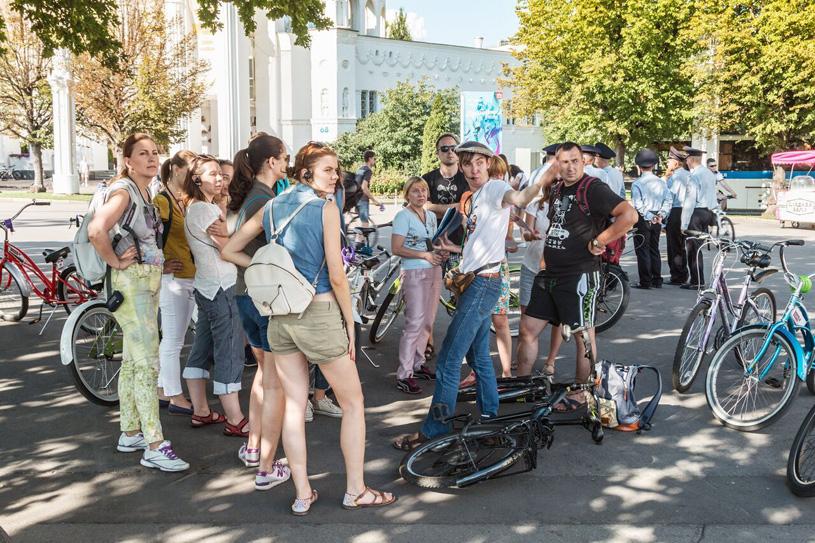 «Москва глазами инженера» открывает новый сезон велоэкскурсий