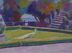 Выставка Бориса Карафёлова «Свет Средиземноморья» в музее Востока