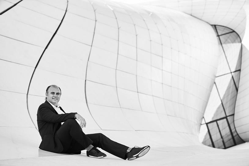 Christos Passas, исполнительный директор Zaha Hadid Architects