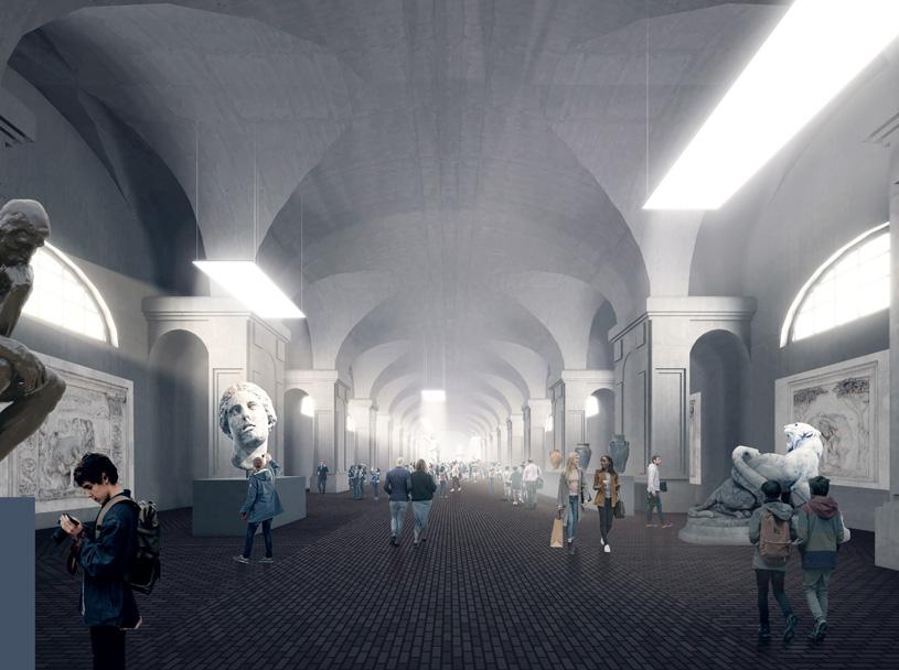 Проект музея в Конюшенном ведомстве претендует на международную награду «Золотой Трезини»