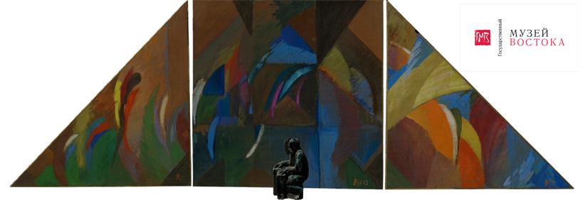 Выставка «Дамир Рузыбаев. Скульптура. Живопись. Графика» в Музее Востока