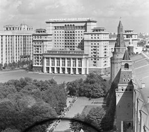 Экскурсии «Сталинская реконструкция Москвы через призму исторического фотоархива ТАСС» от проекта «Москва глазами инженера»