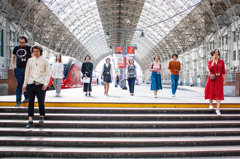 «Точное время» — спектакль / sound-travel по Киевскому вокзалу
