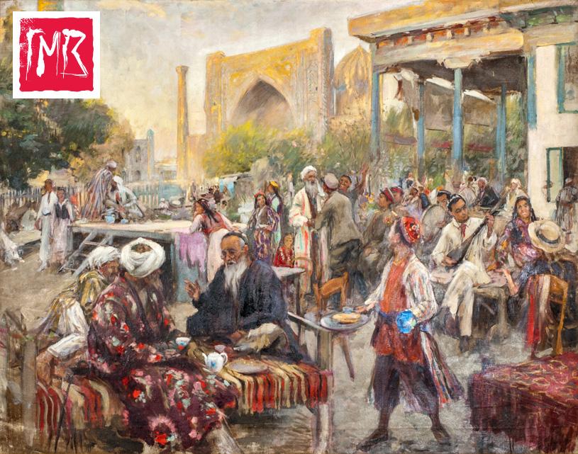 Выставка «Нам родина пристанище дала» в музее Востока