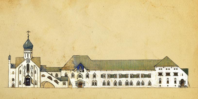 Выставка «Итальянские постройки Алексея Щусева (Храм Святителя Николая в Бари и Русский павильон в Венеции)»