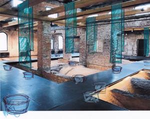 Выставка «Рето Эмх – Инсталляция Руина / Юрский город» в музее архитектуры имени А.В. Щусева
