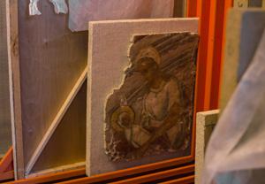 Фрески калязинского монастыря вернулись в Музей архитектуры после реставрации
