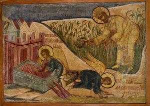 Выставка «Калязин. Фрески затопленного монастыря» в Музее архитектуры им. А.В. Щусева
