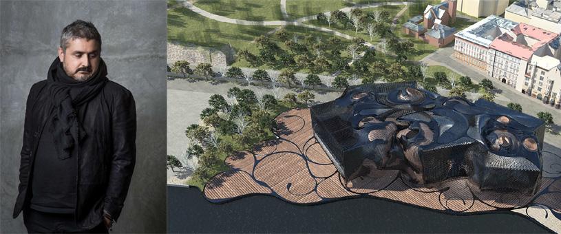 Лекция архитектора Эрнана Диаса Алонсо «Формы множества» в Музее архитектуры имени А.В. Щусева