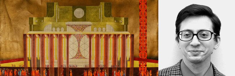 Лекция Вадима Басса «Слышать, видеть, выжить, или о пользе ограничений в театральной архитектуре»