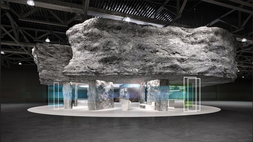 На выставке MosBuild 2020 будет построен «Неомегалит» по проекту VOX Architects