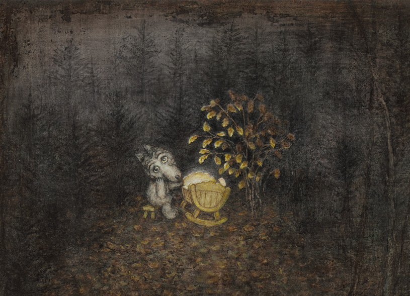 «Снег на траве». Выставка режиссера-аниматора Юрия Норштейна и художника Франчески Ярбусовой