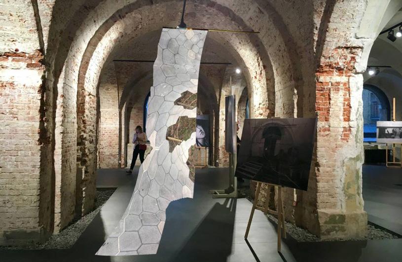 Выставочный проект «Портал Зарядье» в музее архитектуры имени А.В. Щусева