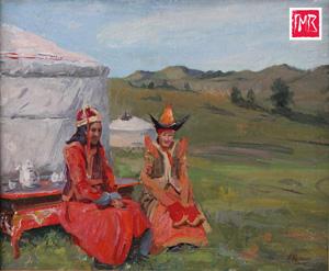 Выставка «Неотпитая чаша» Монгольский Алтай Анатолия Щетинина в музее Востока