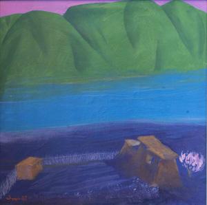Выставка «Долина ветров»: живопись Зухура Хабибуллаева в Музее Востока