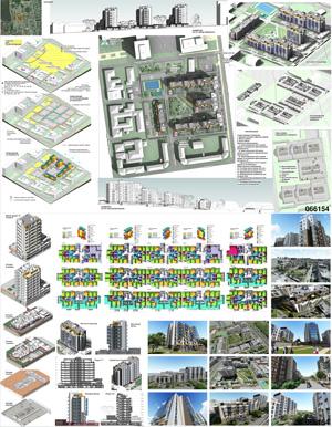 Проект жилого комплекса «Красная площадь» в Ижевске. ООО ПИФ «Архип»