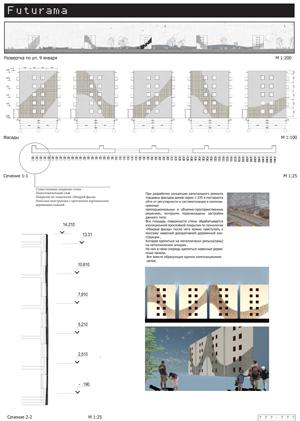 Проект капитального ремонта фасадов жилых домов серии 1-335. Егоров И.А.