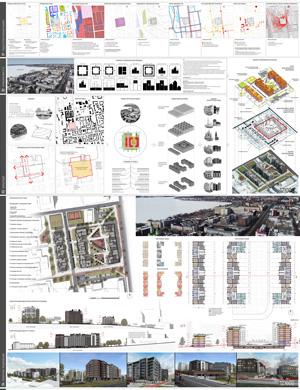 Проект жилого комплекса «Красная площадь» в Ижевске. ООО «ТСАН»