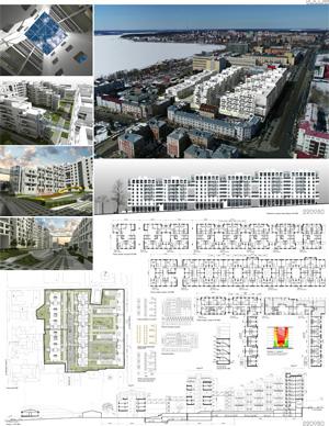 Проект жилого комплекса «Красная площадь» в Ижевске. ООО НПФ «Ретро»