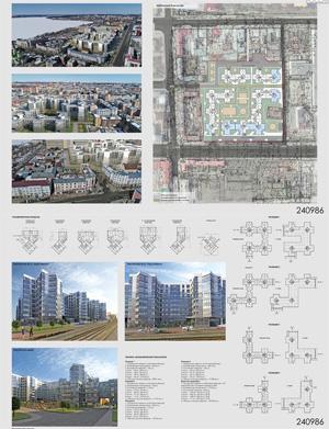 Проект жилого комплекса «Красная площадь» в Ижевске. ООО «ПТМ № 3»