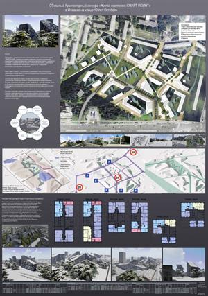 Проект жилого комплекса «Покровский» в Ижевске. Terra Scape Architects (Бельгия)