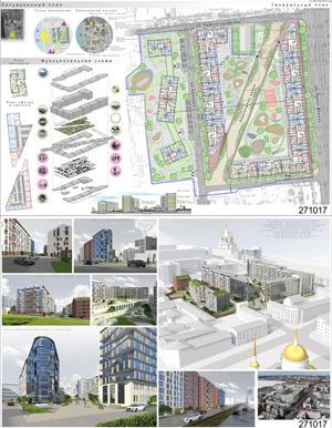 Проект жилого комплекса «Красная площадь» в Ижевске. ООО «АС-Проект»