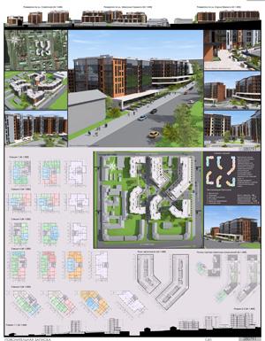Проект жилого комплекса «Красная площадь» в Ижевске. IT-arc
