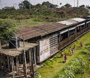 Образовательный комплекс «Arcadia» в Южном Канарчоре, Бангладеш