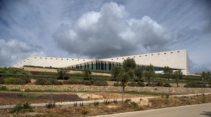 Палестинский музей в городе Бирзейт