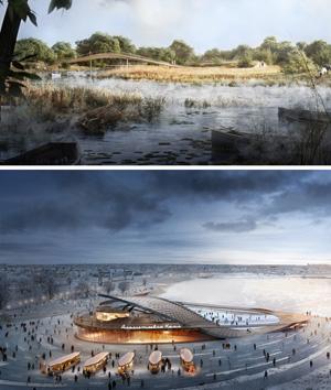 Мастер-план территории, прилегающей к Альметьевскому водохранилищу на р. Степной Зай. IND Architects