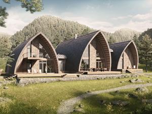 Проект мини-гостиницы «Алтай». Архитектурное бюро Романа Леонидова